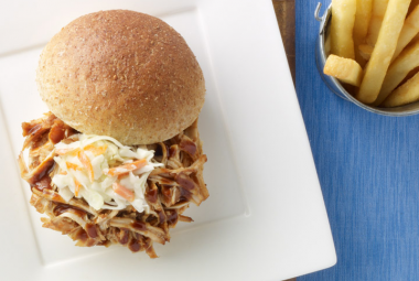 Pulled Turkey Barbeque Sandwiches