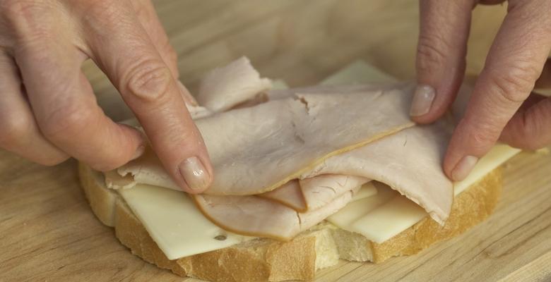 Grilled Turkey & Swiss Sandwich