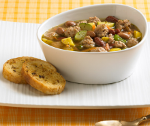 Italian Turkey Minestrone Soup