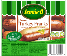 Jumbo Turkey Franks