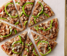 Quick & Easy Turkey Sausage Pizza