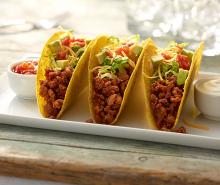 Super Simple Turkey Tacos