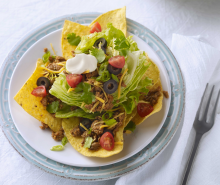 Quick Taco Turkey Salad