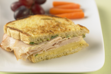 Grilled Turkey & Swiss Sandwich | Nutritional Information | Jennie-O ...