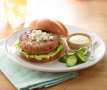 Recipe Rehab™ Horseradish Turkey Burgers