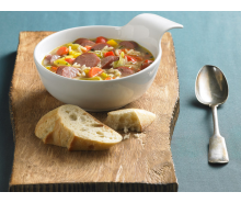 Turkey Sausage & Rice Soup