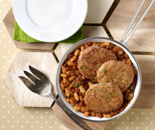 Barbeque Bean Turkey Skillet