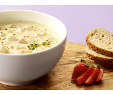 Creamy Dijon Turkey Soup