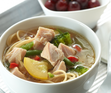 Asian Turkey Noodle Soup