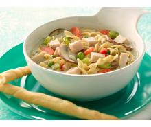Creamy Turkey & Veggie Soup