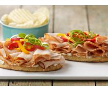 Open-Face Turkey Sandwich