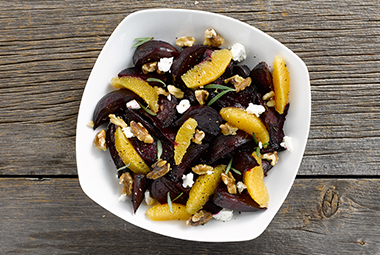 Roasted Beets with Goat Cheese & Walnuts | Jennie-O® Turkey