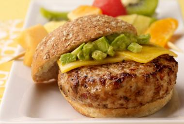 Avocado Turkey Burger   Jennie-O® Turkey