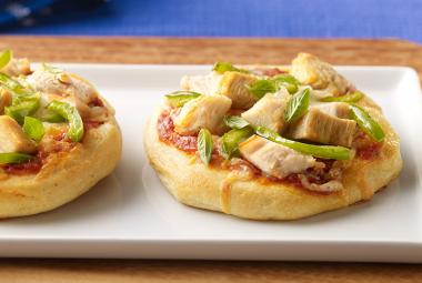 Mini Turkey Pizzas