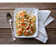 Turkey and Rice Pilaf