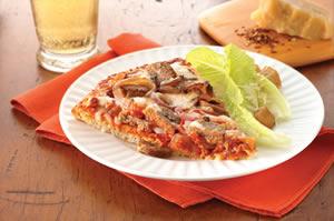 Italian Turkey Sausage Pizza