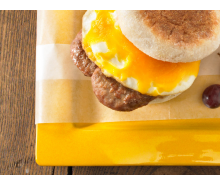 Turkey Sausage & Egg Breakfast Sandwich