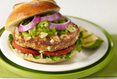 New Mexico Green Chili Turkey Burger | Nutritional Information ...