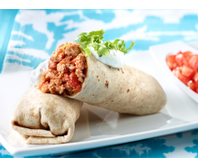 Turkey Burritos El Grande