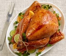 Sweet & Sassy Marmalade-Glazed Turkey
