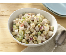 Waldorf Turkey Pasta Salad