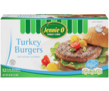 All Natural Turkey Burgers
