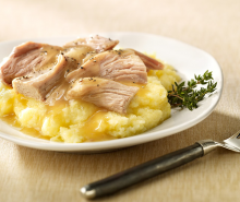 Turkey Pot Roast with Polenta & Gravy