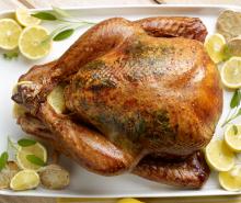 Lemon Herb Roasted Turkey