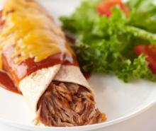 Easy Turkey Enchiladas
