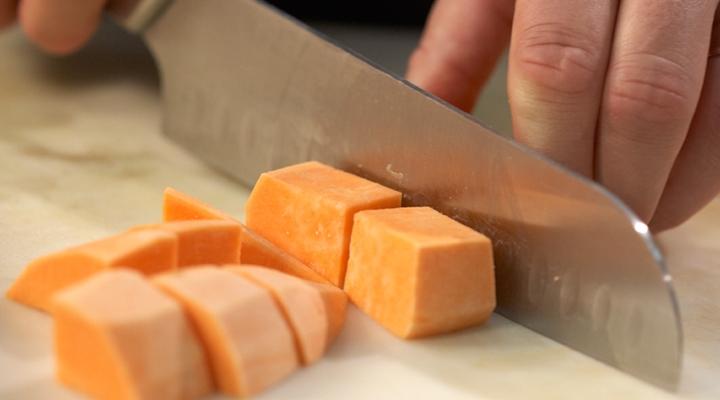 Sweet Potato & Turkey Salad