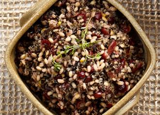 Wild Rice & Cranberry Pilaf