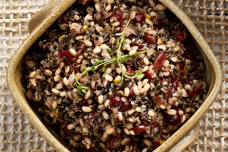 Wild Rice & Cranberry Pilaf