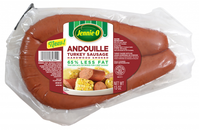 Andouille Turkey Sausage