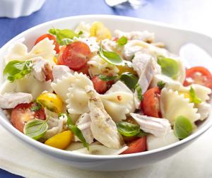Greek Turkey Pasta Salad