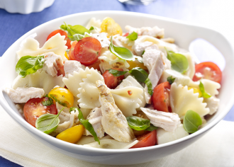 Greek Turkey Pasta Salad