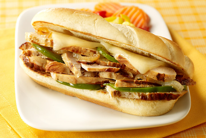 Turkey Philly Cheesesteak