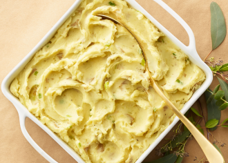 Make-Ahead Goat Cheese Mashed Potatoes