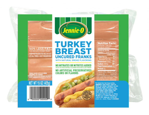 Uncured Turkey Breast Franks