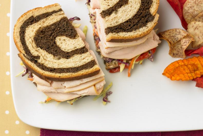 Turkey & Slaw Sandwiches