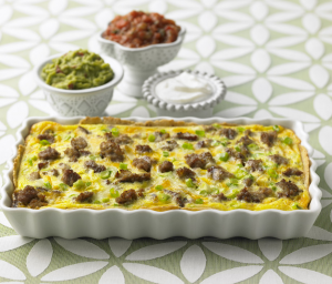 Turkey Sausage Strata