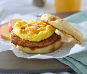 Turkey Sausage & Egg Breakfast Sandwich