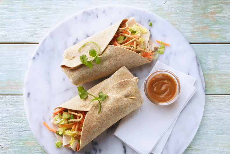 Thai Turkey Wrap