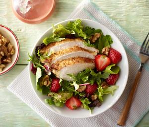 Turkey Strawberry Salad