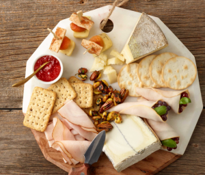Turkey & Cheese Plate