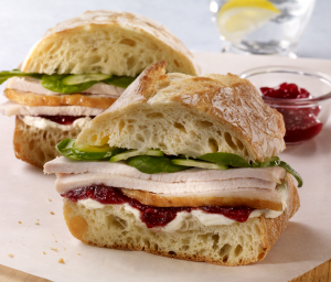 Cranberry Turkey Ciabatta