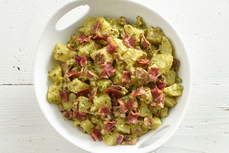 Turkey Bacon & Guac Picnic Potato Salad