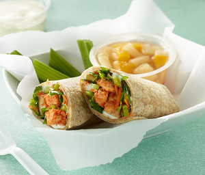 Tasty Buffalo Chicken Wrap