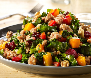 Warm Turkey Salad