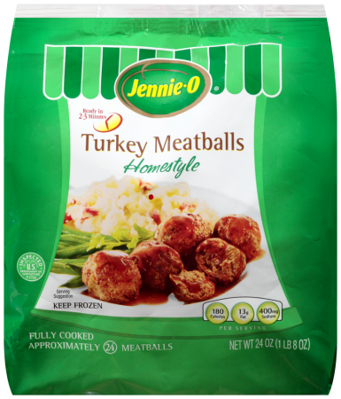 Frozen Homestyle Turkey Meatballs | JENNIE-O® Product ...