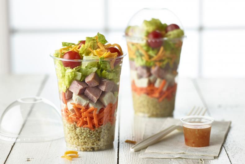Quinoa Cobb Salad Shaker